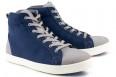 High Top Sneaker Bleu/Gris