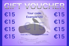Eco Vegan Shoes Gift card €15,00