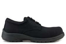 Easy Walker Advanced Swiss Fabric S1-SRC Safety Shoe Black
