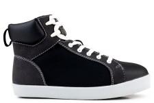 High Top Sneaker Noir