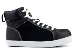 High Top S2-P-SRC Safety Sneaker Black
