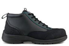 Ankle Boot Safety S3-SRC Noir/Bleu Trim