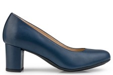 Eco Vegan Shoes Anna Microfibre Bleu