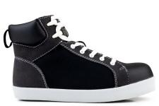 High Top S2-P-SRC Safety Sneaker Noir
