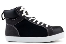 High Top S2-P-SRC Safety Sneaker Black