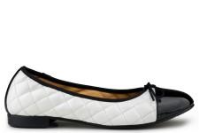 Suzy Ballerina Noir/Blanc