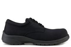 Easy Walker Advanced Swiss Fabric S1-SRC Safety Shoe Black