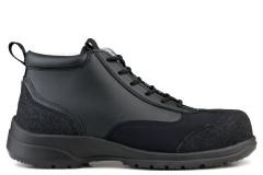 Ankle Boot Safety S3-SRC Black/Black Trim