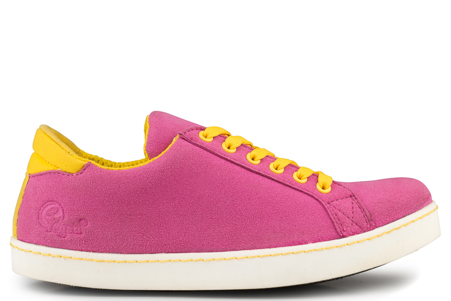 Soft Sneaker Pink/Yellow