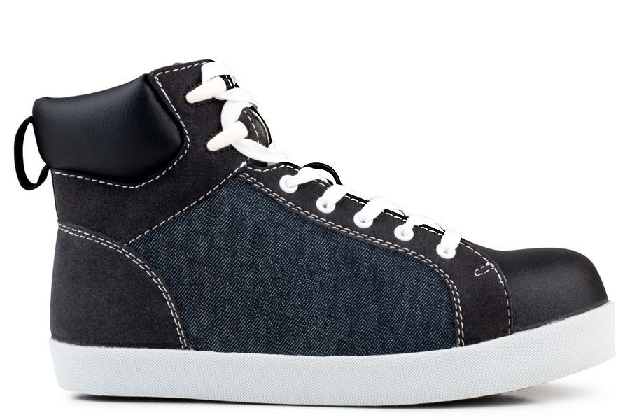 High Top S2-P-SRC Safety Sneaker Jeans