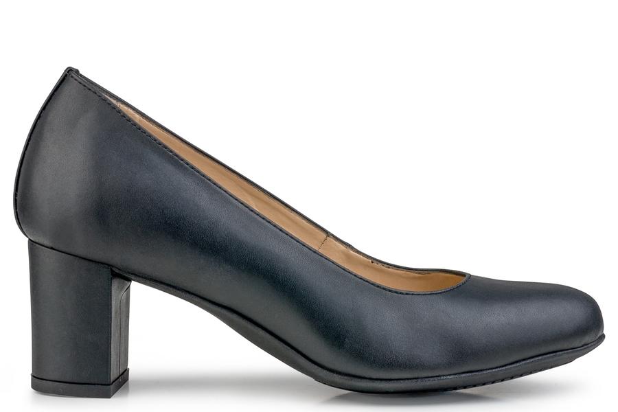 Eco Vegan Shoes Anna Microfibre Black