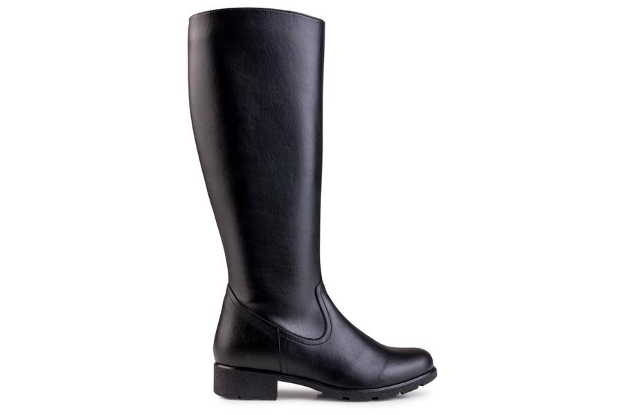 Grip+ Knee High Boot Noir