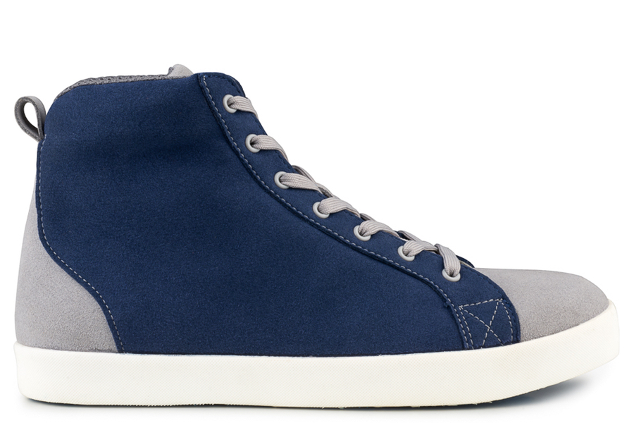 High Soft Sneaker Bleu/Gris