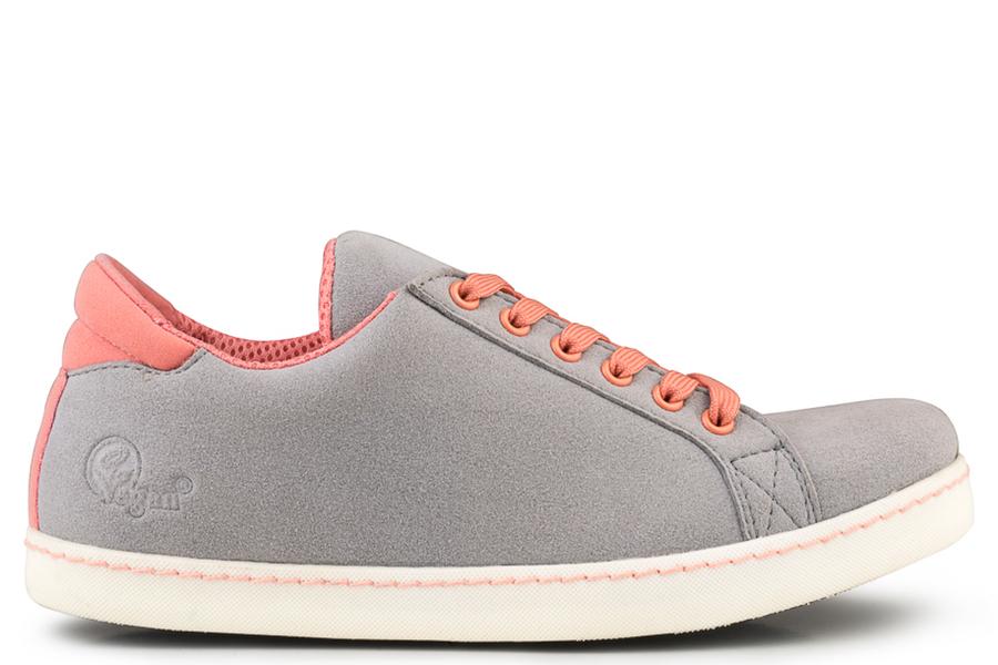 Soft Sneaker Gris/Orange