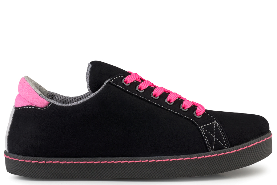 Soft Sneaker Noir Rose