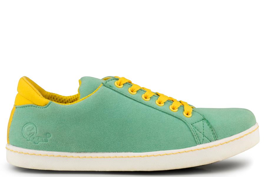 Soft Sneaker Vert/Jaune