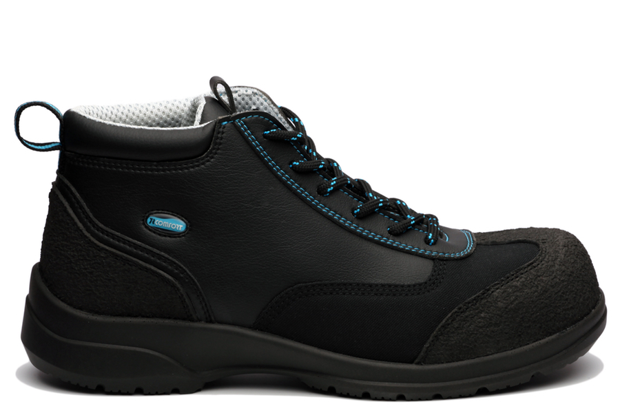 Ankle Boot Safety S1-P-SRC Noir