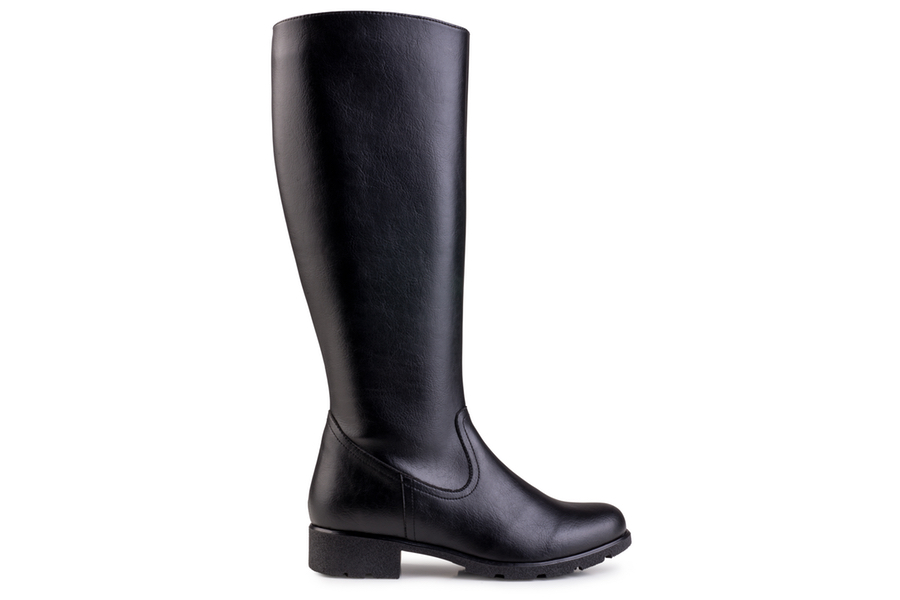 Grip+ Knee High Boot Black