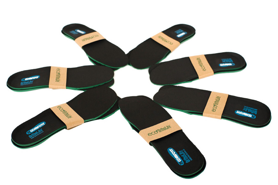 Eco-OrthoLite® insoles