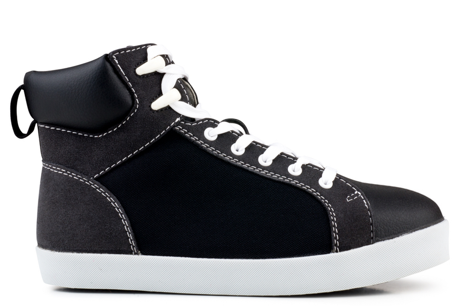 High Top Sneaker Black