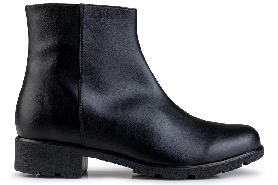 Grip+ Ankle Boot Black